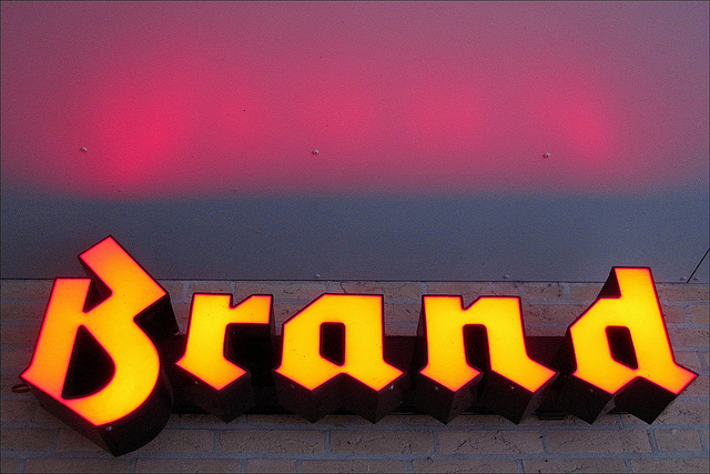 What does your brand say about you and your company?  Image by Rupert Ganzer via  Flickr/CreativeCommons.