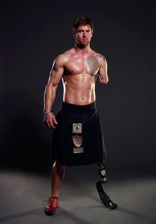 Retired Army veteran Noah Galloway, 32, of Alabaster, Ala. is in the running for Men's Health Magazine's Ultimate Guy Search. Online voting ends June 30, 2014.  Image by Jason Maris Photography