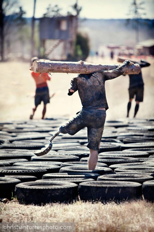 "Noah Galloway's favorite saying is ""No excuses.''   Image by ChristianTorresPhoto.com"