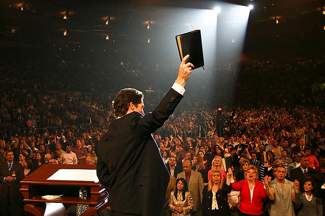 Joel Osteen of Joel Osteen Ministries  Image from Joel Osteen Ministries via Flickr/Creative Commons