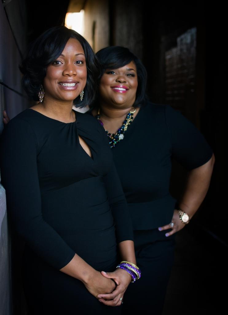 Consultants TaShara King and Kimberly Davis