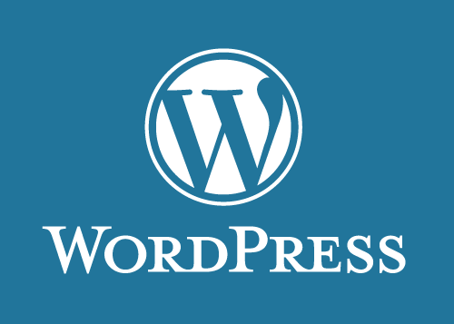 WordPress logo.  Image from  Flickr/Creative Commons.