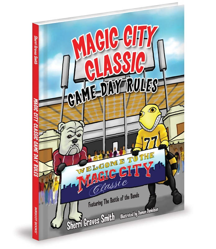 "Tuscumbia, Ala. native Sherri Graves Smith wrote ""Magic City Classic Game Day Rules.'' She'll be in Birmingham on Oct. 24 - 26 to sell and sign books. (Image: Mascot Books)"