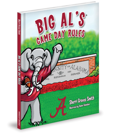 Big Al's Game Day Rules was one of Sherri Graves Smith's first children's books. (Credit: Mascot Books)