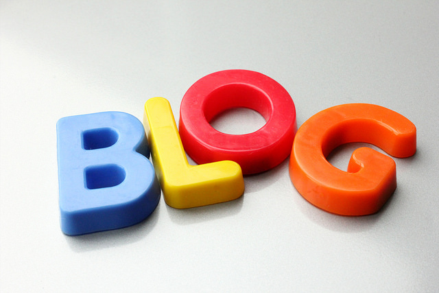 Blog what will interest your audience.  Image by Flickr via Creative Content.