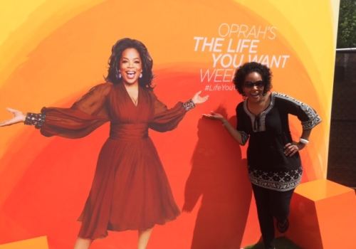 I spent a weekend with Oprah Winfrey, and left energized and ready for life's challenges.