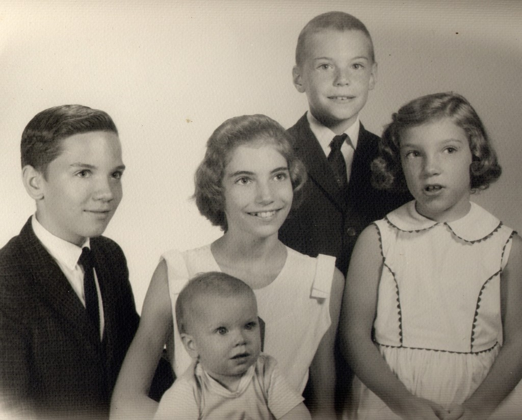 Randall Jimerson with his siblings. Photo credit: Special
