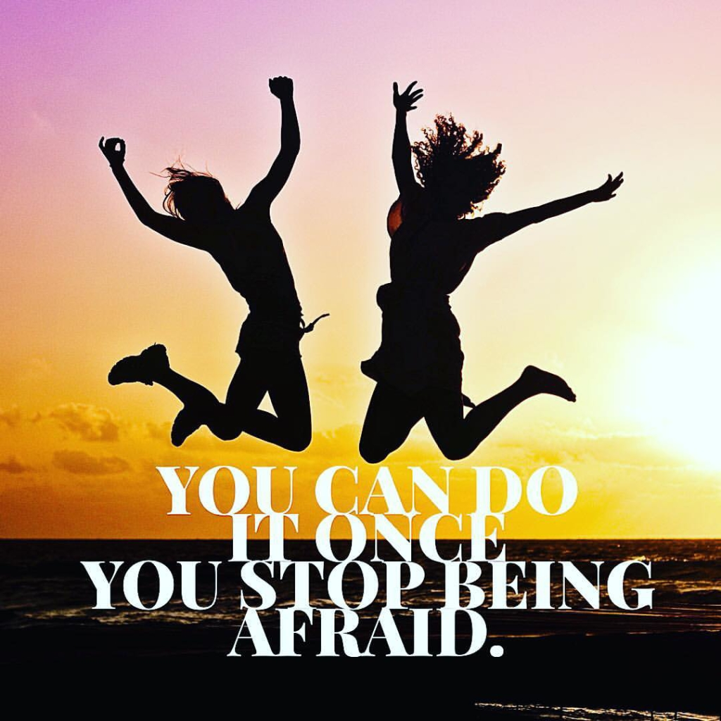 Are there things you REALLY want to do in life, but you put them off because you are scared? How much longer are you going to be a prisoner to fear? At some point, you have to break the chains of fear and just jump. Your destiny awaits. Remember this: You can do it if you stop being afraid.