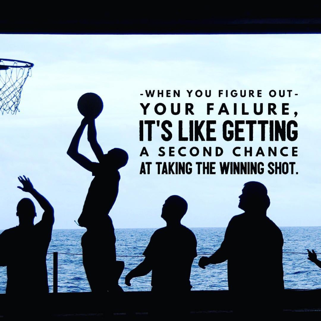 If you fail the first time, try, try again!
