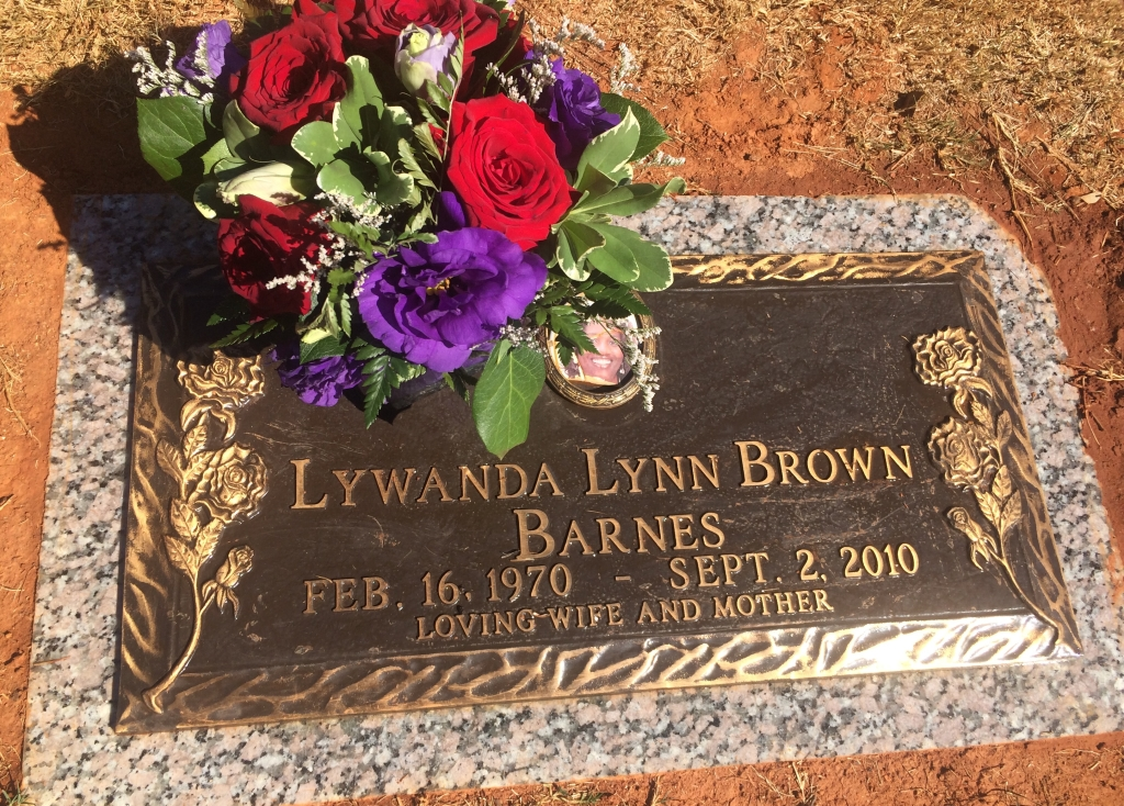Lywanda Lynn Barnes Brown was a beloved daughter, wife, mother, sister, cousin, Delta Sigma Theta Sorority, Inc. member, University of Alabama graduate and friend. (Photo by Chanda Temple)
