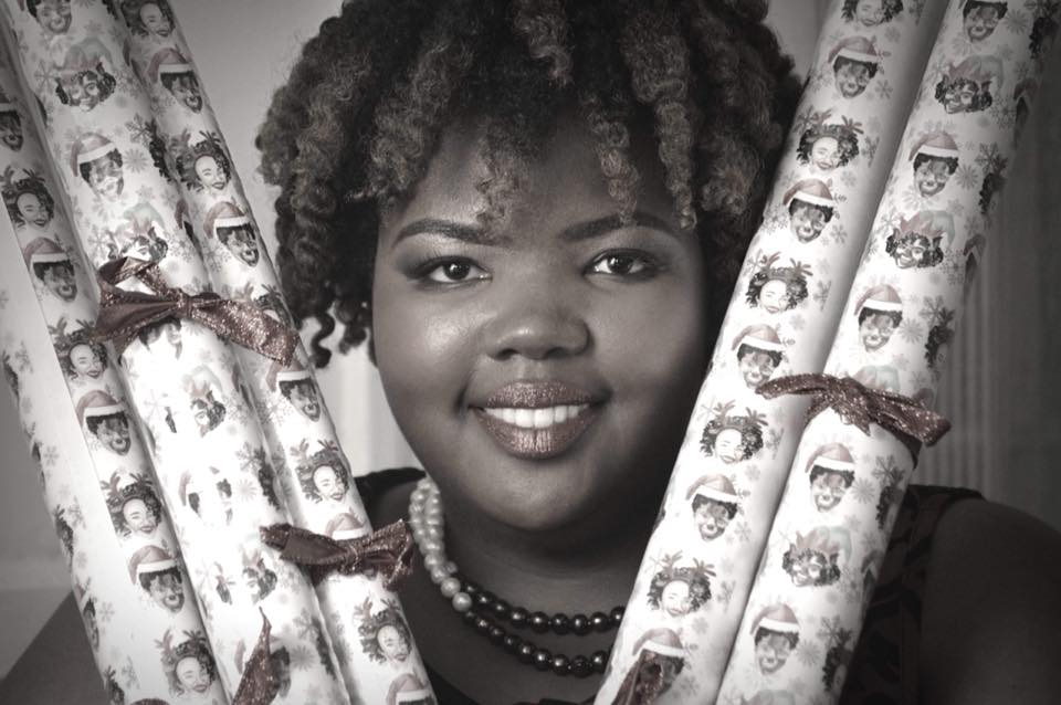 As a toddler, Kristin Farmer drew on her parents' walls. They didn't get mad, they just cleaned up the mess. Pouring into her creativity helped broaden her artistic talents. Today, she's a graphic artist and runs two businesses, including Curly Contessa. It offers African-American themed wrapping paper. (Photo: Special)
